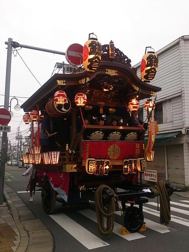初與祭のBGMは鎌倉町区のお囃子