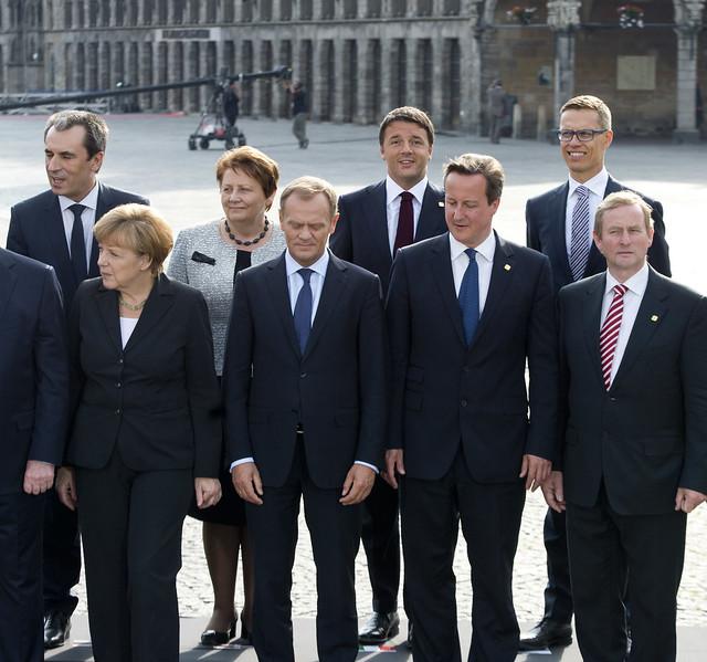Scontro fra Matteo Renzi ed Angela Merkel sulla flessibilita' rispetto ai vincoli di bilancio