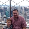 Top of the Empire State Building. What a view! #newyorkwithluke