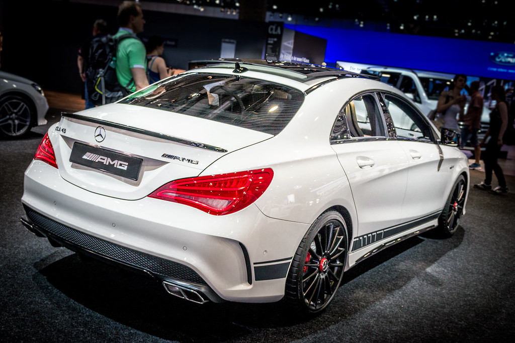 Mercedes Benz Cla 45 Amg 4matic Coup 233 R4 2 0l 265 Kw