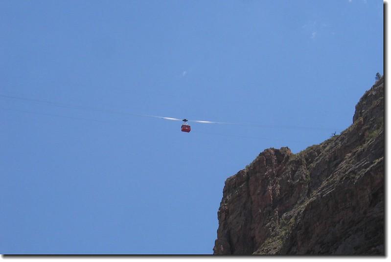 Aerial Tram Car Rides at Royal Gorge 1