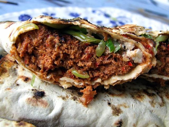 BBQ Adana Kebab Rolls