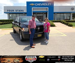 #HappyAnniversary to Claude And Mary Morrow on your 2013 #Ram #1500 from Scott Sanders at Four Stars Auto Ranch!