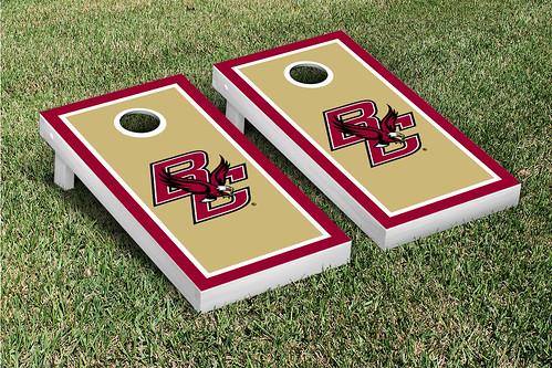 Boston College Eagles Cornhole Game Set Border