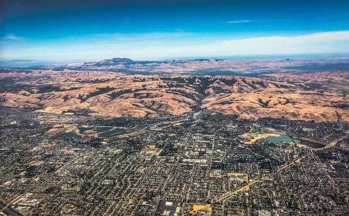 california ca usa mountain mountains landscape oakland bay us view unitedstates over aerial calif east hills cal suburbs hayward northern range haywood ilobsterit