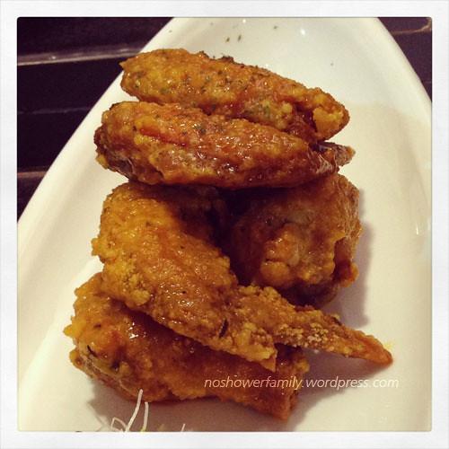 Fried chicken wines