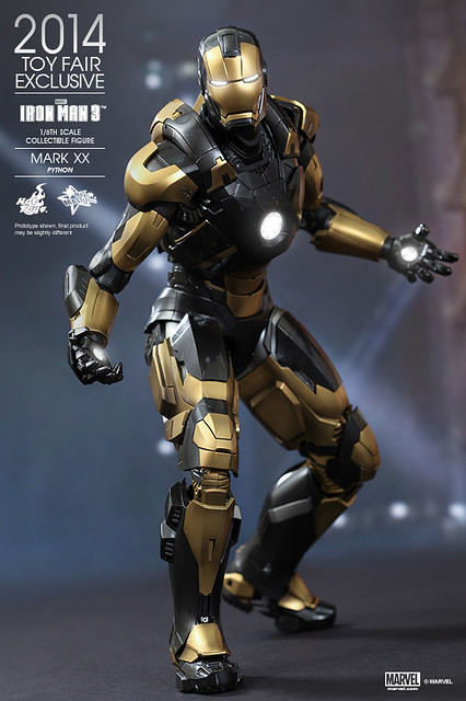 Hot Toys - Iron Man 3 - Python (Mark XX) Collectible Figure_PR03