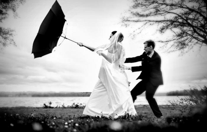 boda lluvia