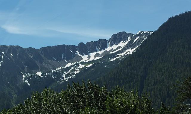 washington mountain scenery