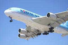 Airbus A-380, Korean Air, landing LAX ka_DSC_1075
