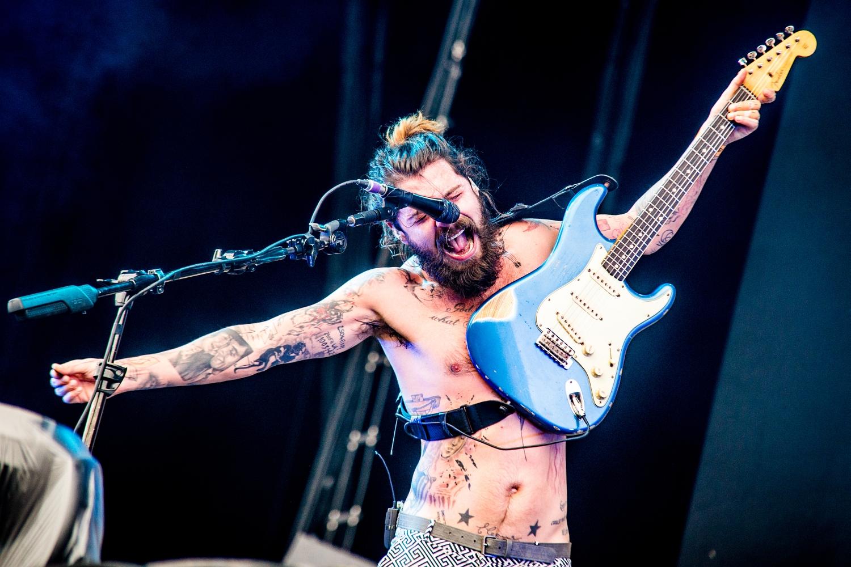 Biffy Clyro @ Rock Werchter 2014 (Jan Van den Bulck)