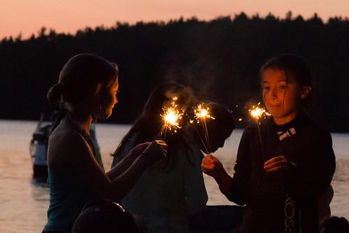 Sparkler Girls