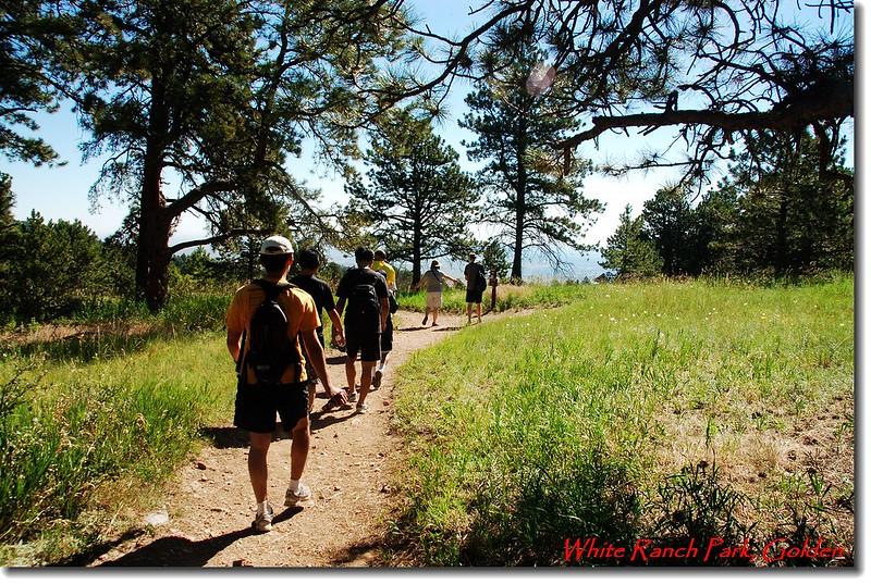 公園內多用途登山步道(18哩長) 1