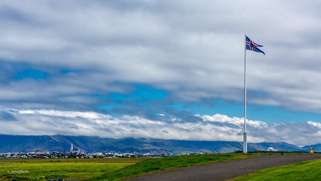 Overlooking Reykjavík From Bessastaðir