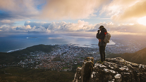 clouds sunrise southafrica hiking capetown tablemountain westerncape d700 vsco