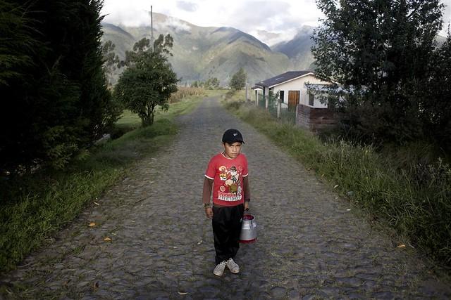 """Zuleta, Imbabura @Colectivo Sinestesia. UICN.  Proyecto """"Comunidades de los Páramos"""". 2014"""