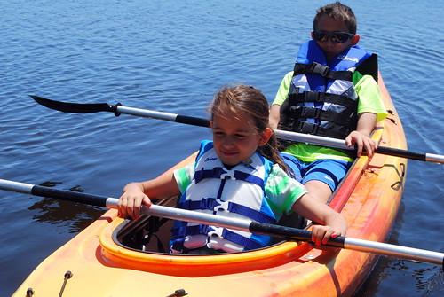 Kayaking - chilling-001