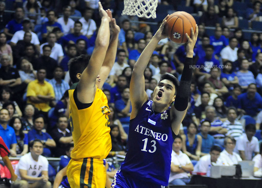 UAAP Season 77: Ateneo Blue Eagles vs. FEU Tamaraws, Aug. 3