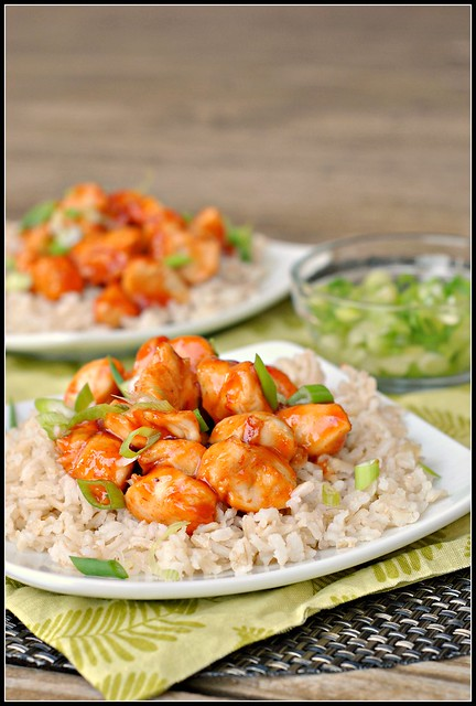 Honey Sriracha Chicken 3