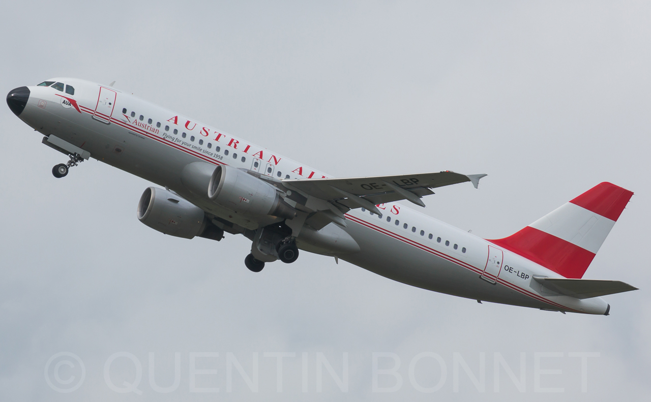 Austrian Airlines Airbus A320-214 OE-LBP