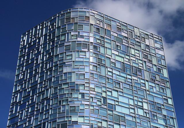 Fachada de edificio en la 100 Eleventh Avenue en Nueva York.