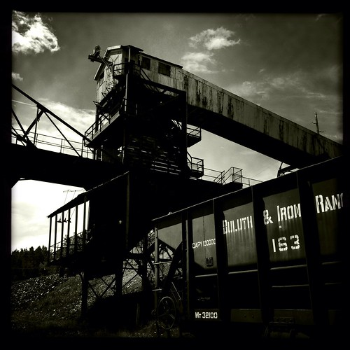 statepark railroad bw history minnesota architecture underground iron mine historic mining range ore soudan iphone iphonography hipstamatic