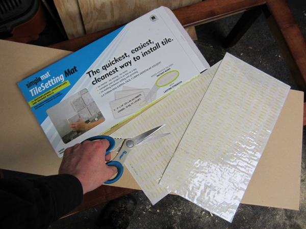 The SimpleMat(r) Tile Setting Mat is designed to provide the quickest way to install tile