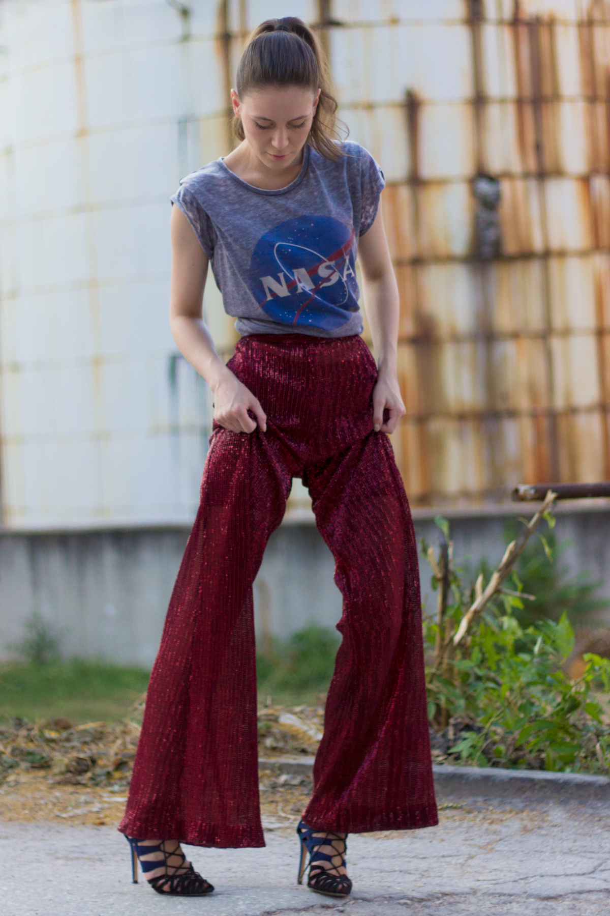 Mermaid Pants by Mila Kadriu on AfterTwoFive.com