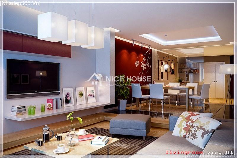 Thiết kế nội thất căn hộ chị Lan - Hà Nội_2