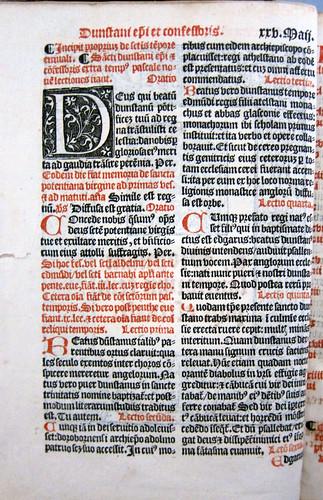 sarum breviary caly leaf1verso