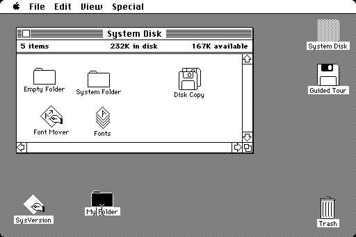 Macintosh 桌面
