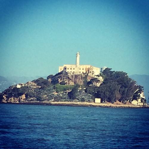 The Rock. #alcatraz #sanfrancisco #kategoestocalifornia