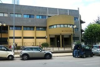 Noicattaro. Il Palazzo di Città front
