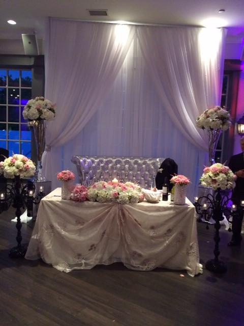 Wedding arrangement by Farah florist