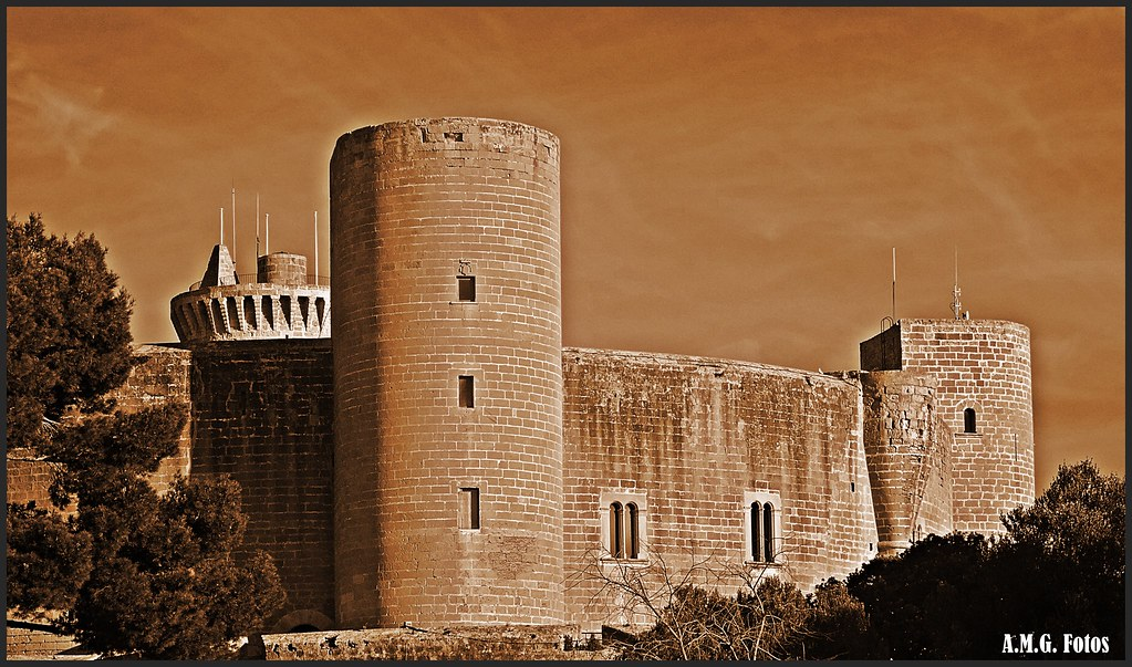 # Bellver Castle of Palma de Mallorca...