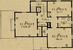 "Image from page 46 of ""Boston Herald-Traveler's book of homes : how to plan, finance and build your home"" (1922)"