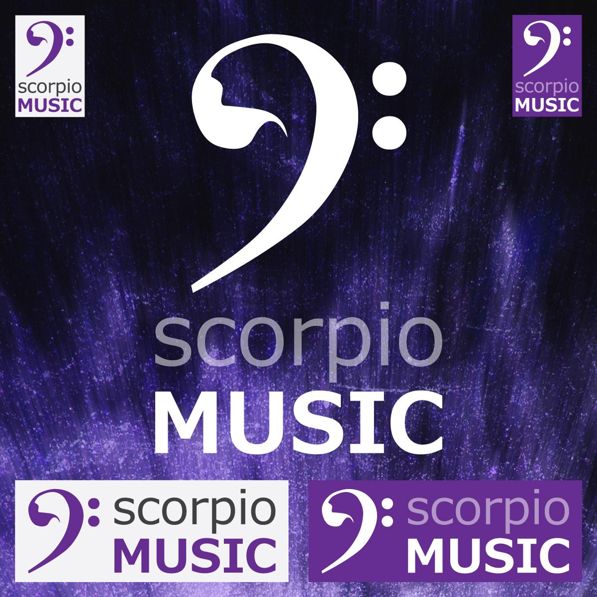 SCORPIO Music logóterv