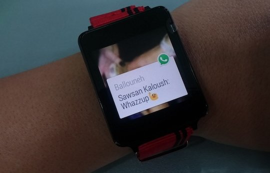 WhatsApp для Android Wear