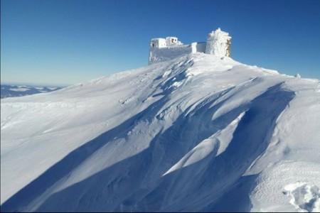 Ukrajina má letos sněhu bohatě