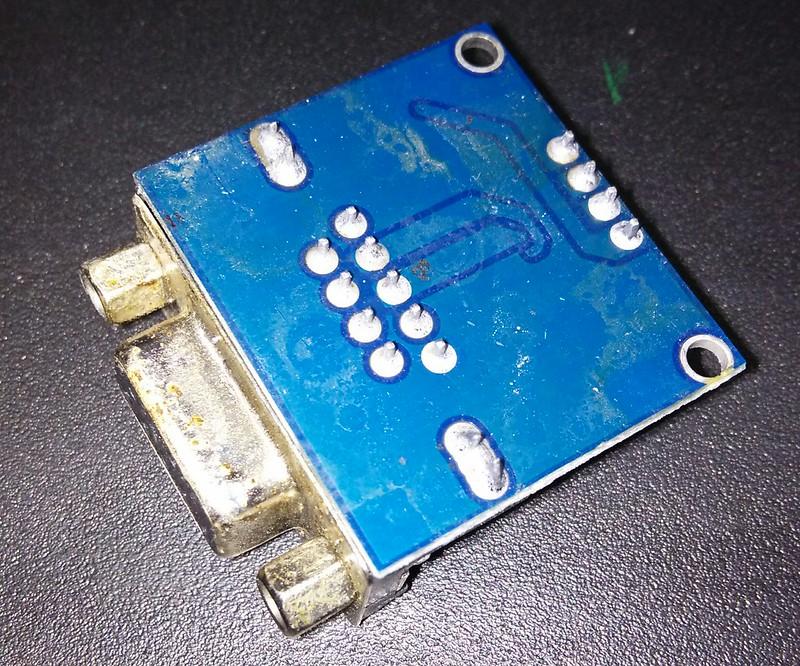 MAX3232 Module Back side