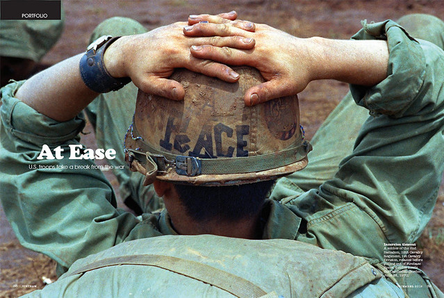 VIETNAM Magazine Dec 2016 (1) - At Ease - U.S. troops take a break from the war