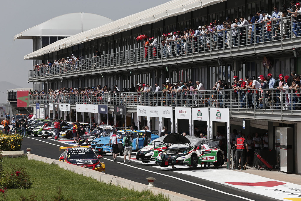 PIT LANE ATMOSPHERE during the 2017 FIA WTCC World Touring Car Race of Morocco at Marrakech, from April 7 to 9 - Photo Jean Michel Le Meur / DPPI.