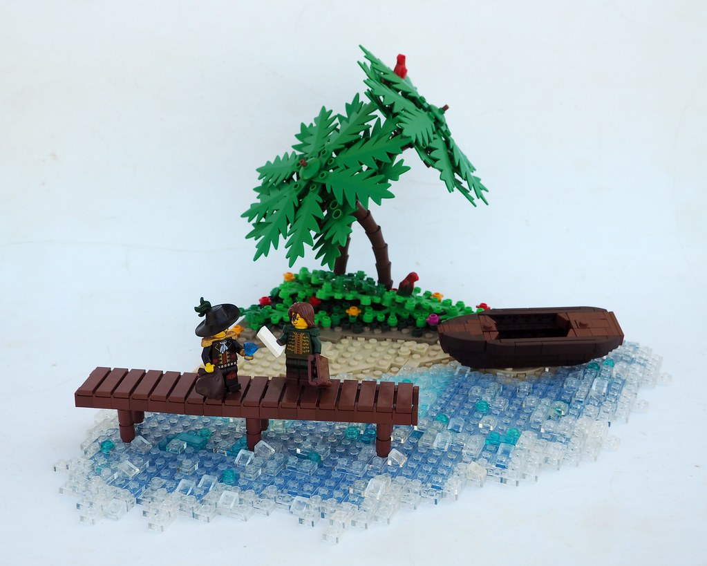 Definitely a Deal (custom built Lego model)