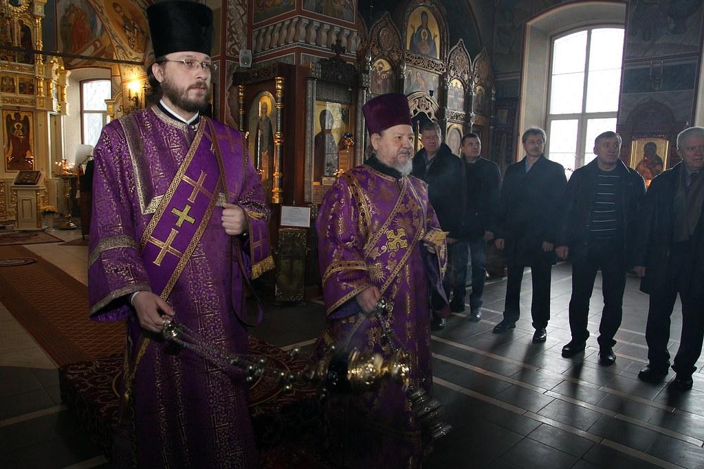 Епископ Воскресенский Савва посетил храм Архангела Михаила в с. Летово в день памяти местночтимого новомученика