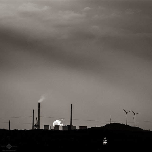 Distant Power Station