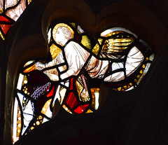 censing angel (15th Century restored)