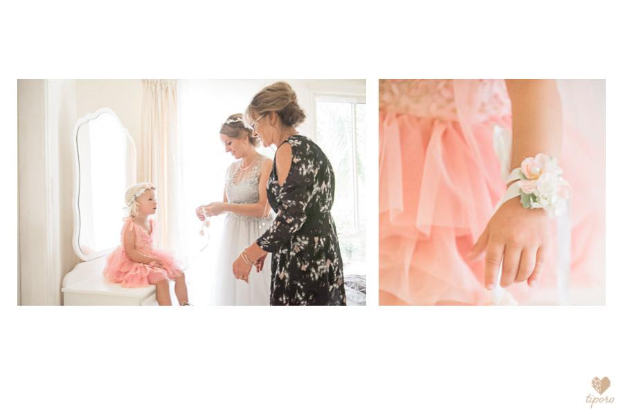 wooden ring box, pink wedding bouquetbridal prepcorsage, flower-girl, peach dress
