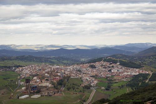 Spain - Ciudad Real - Almaden - View from Ermita Virgen del Castillo in Chillon