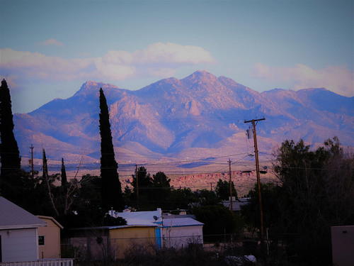 kingman arizona mohave county home mountains motherroad us66 atsf bnsf landscape sunset
