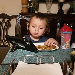 breakfast with my nephew #proofoflife #fridaymorning